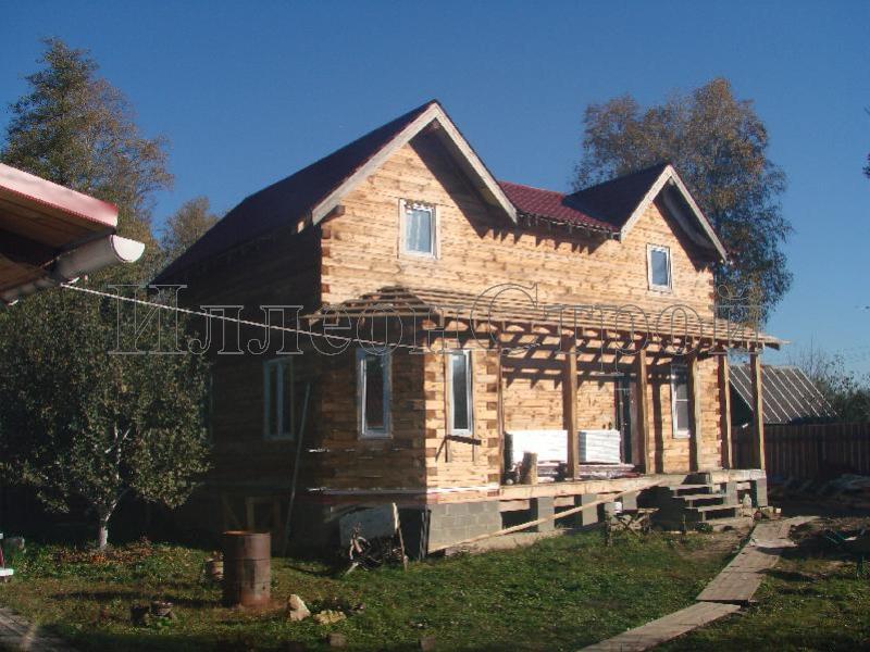 Отделка деревянных домов снаружи сайдингом фото 42