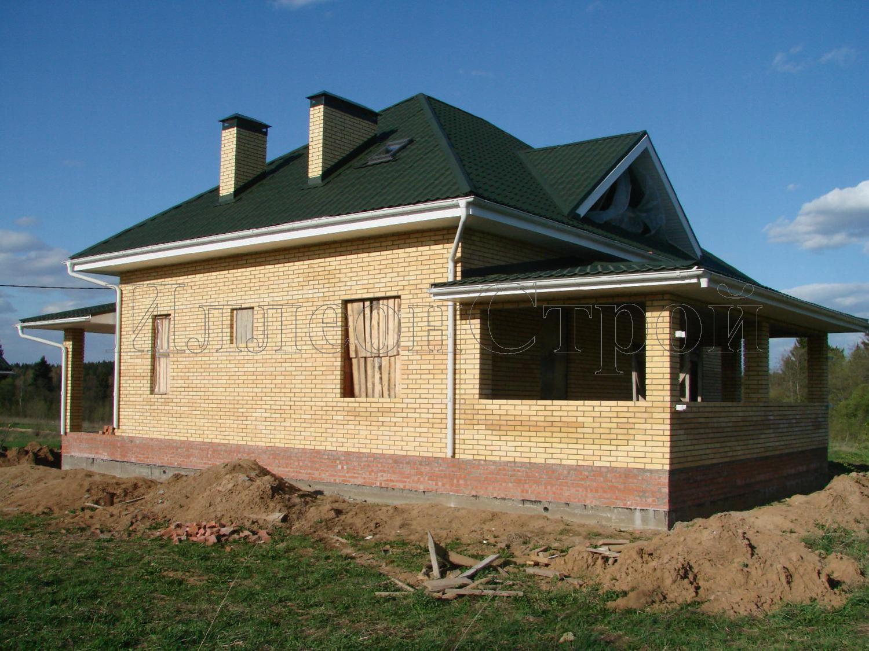 Строительство дома из камня