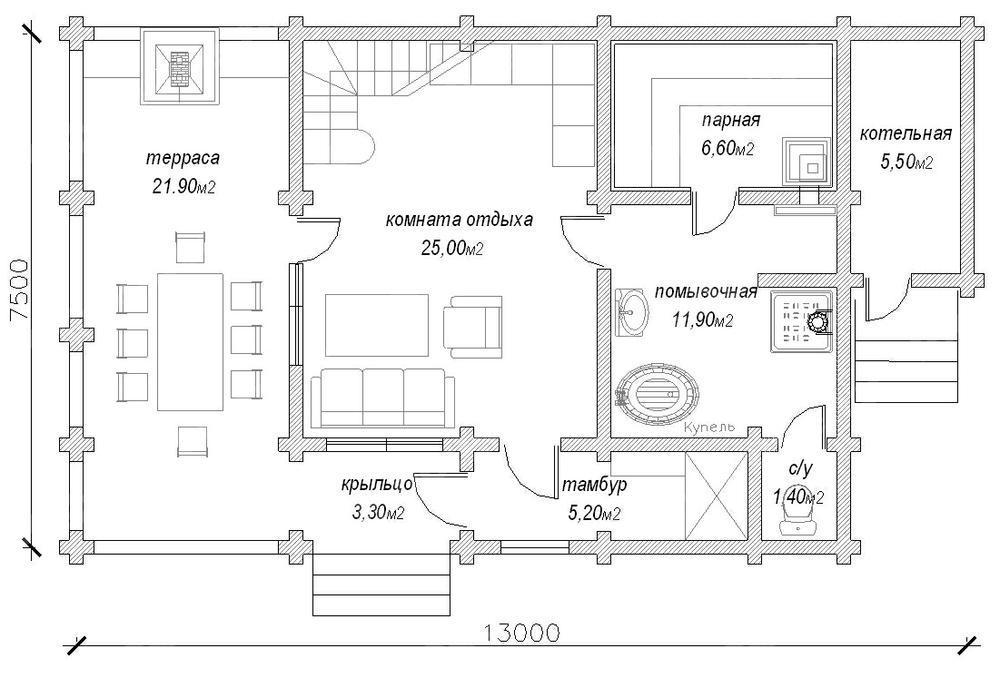 СТРОИТЕЛЬСТВО КОТТЕДЖЕЙ в Самаре проекты построить дом
