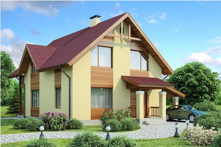 Фасады домов фото одноэтажных домов