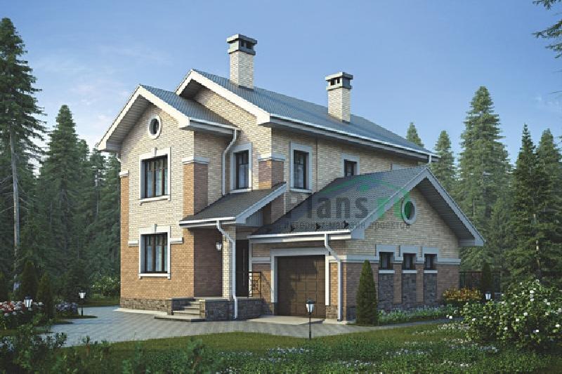 Дом из бруса 134 кв.м проект 55-94