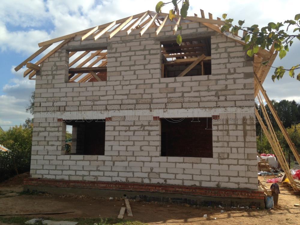 Построить дом из пеноблоков своими руками рассчитать стоимость 56