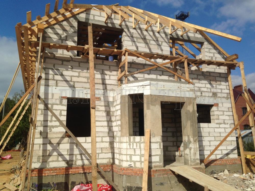 Строительство дома из пеноблоков Солнечногорский район