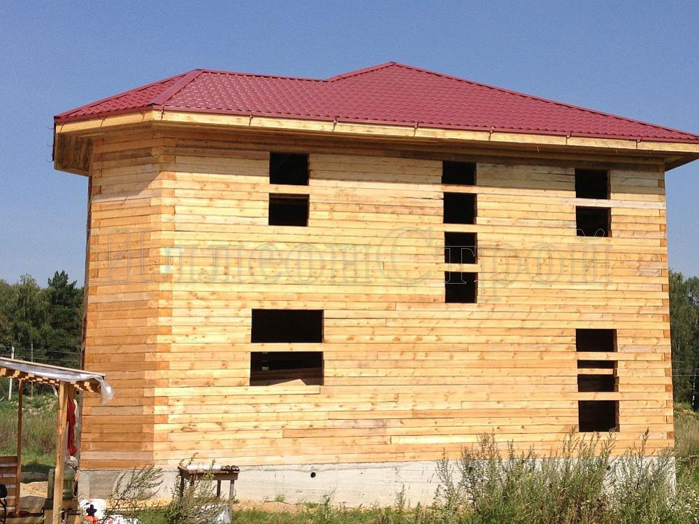 Строительство дома из газобетонных