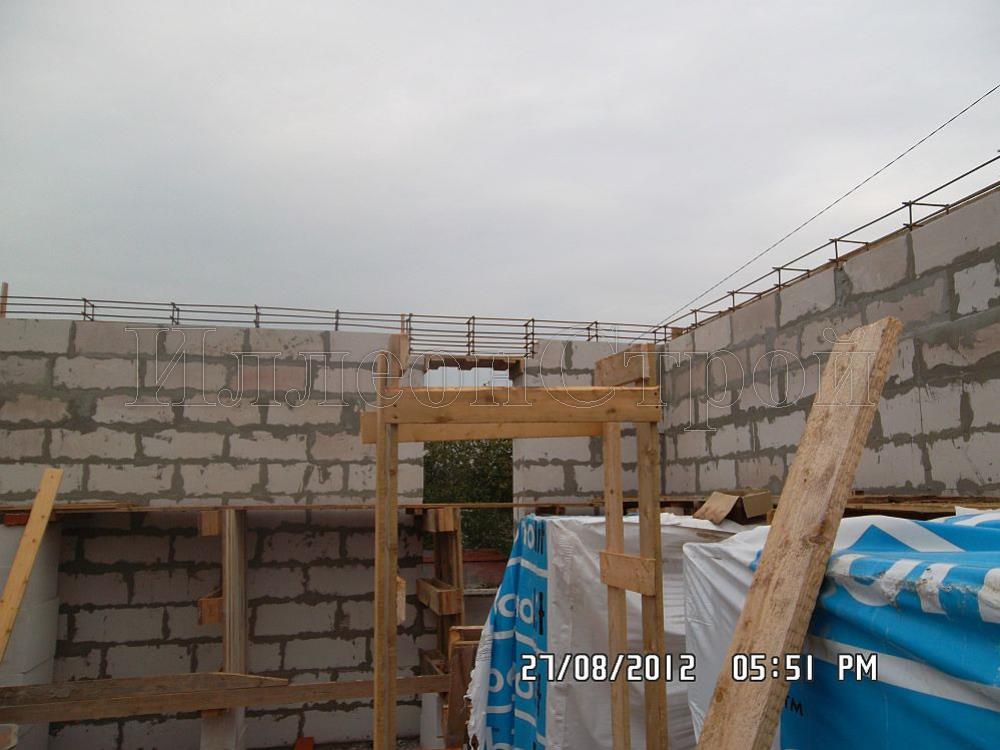 Строительство дома из газобетонных блоков Павловское