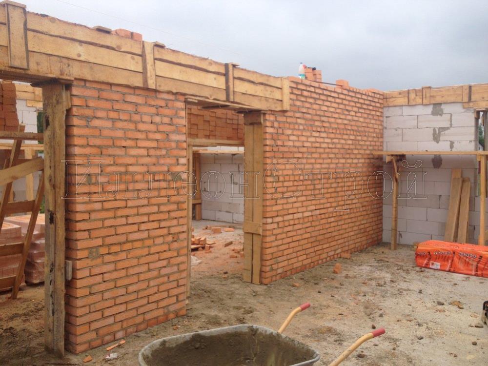 Фундамент под дом 10х10 цена Подольский район