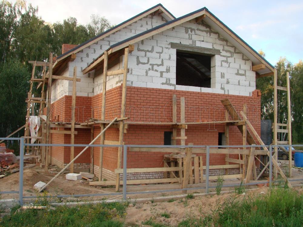 Видео построить  из газосиликатных блоков дом 126