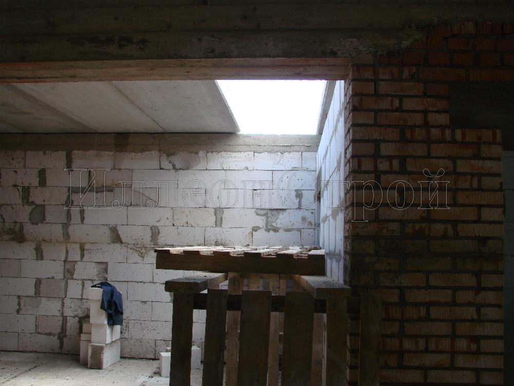 Строительсво дома из газобетонных блоков с облицовкой кирпичом Раменское