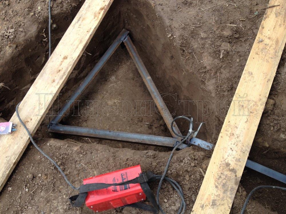 Мелкозаглубленный ленточный фундамент цена в Химках