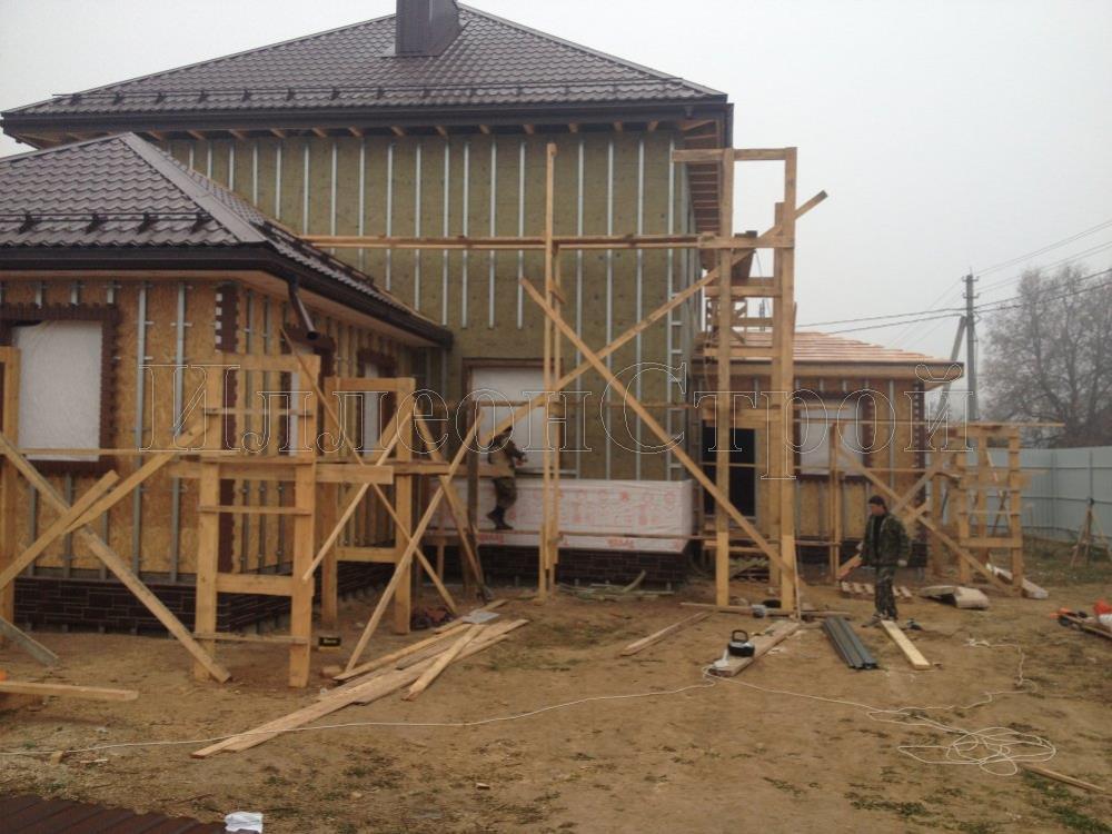 Строим фундамент для дома в Подольске