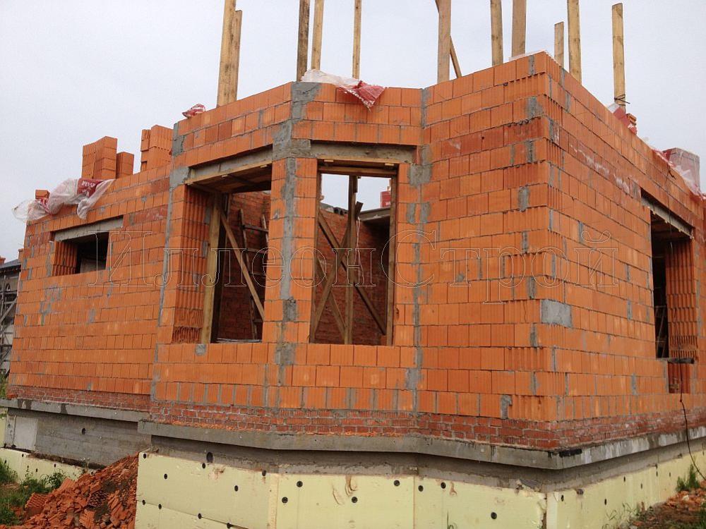 Строительство дома из теплой керамики своими руками 58
